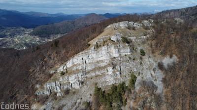 Foto a video: Temešská skala - okres Prievidza - tip na výlet - túra