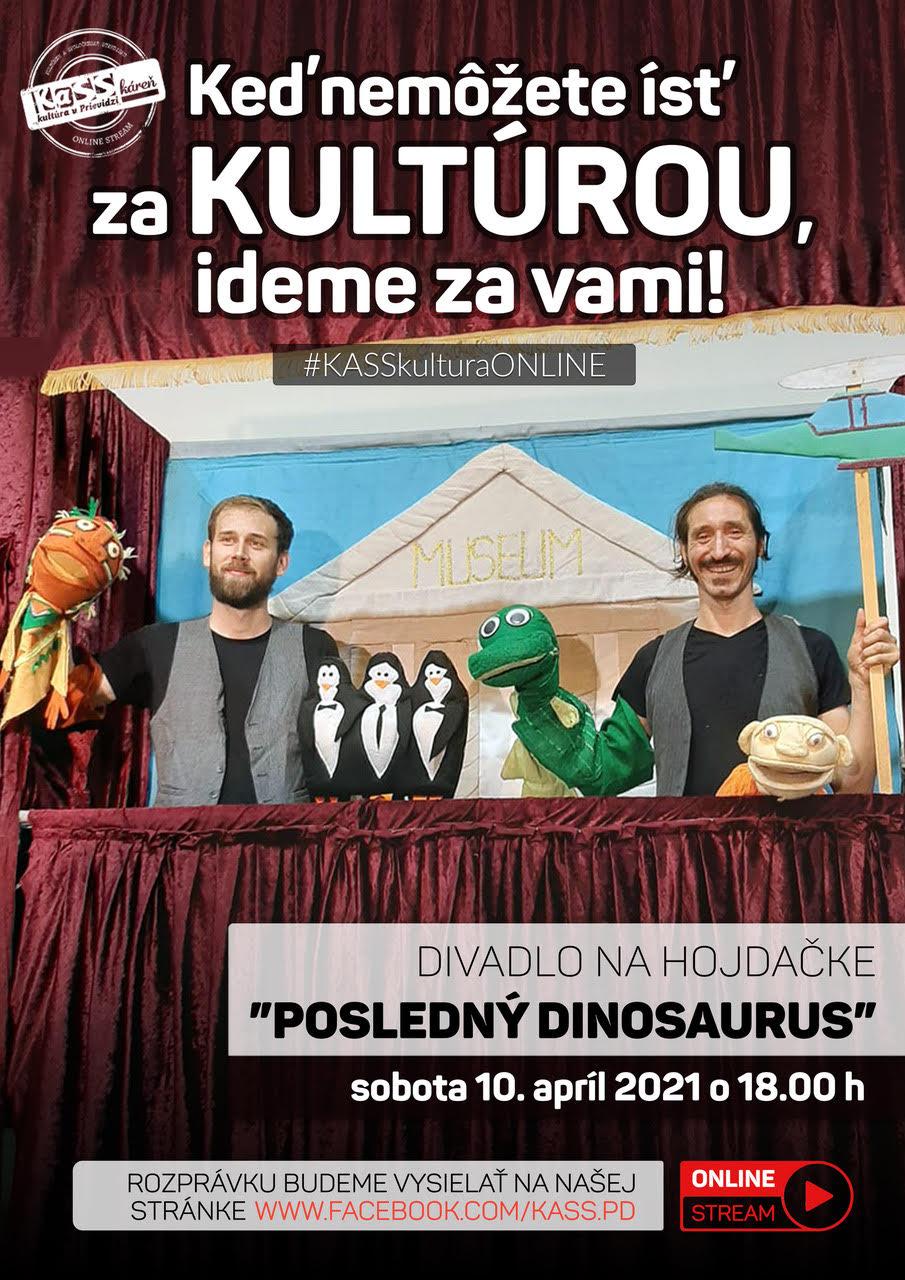 Divadlo na hojdačke – Posledný dinosaurus (online stream)