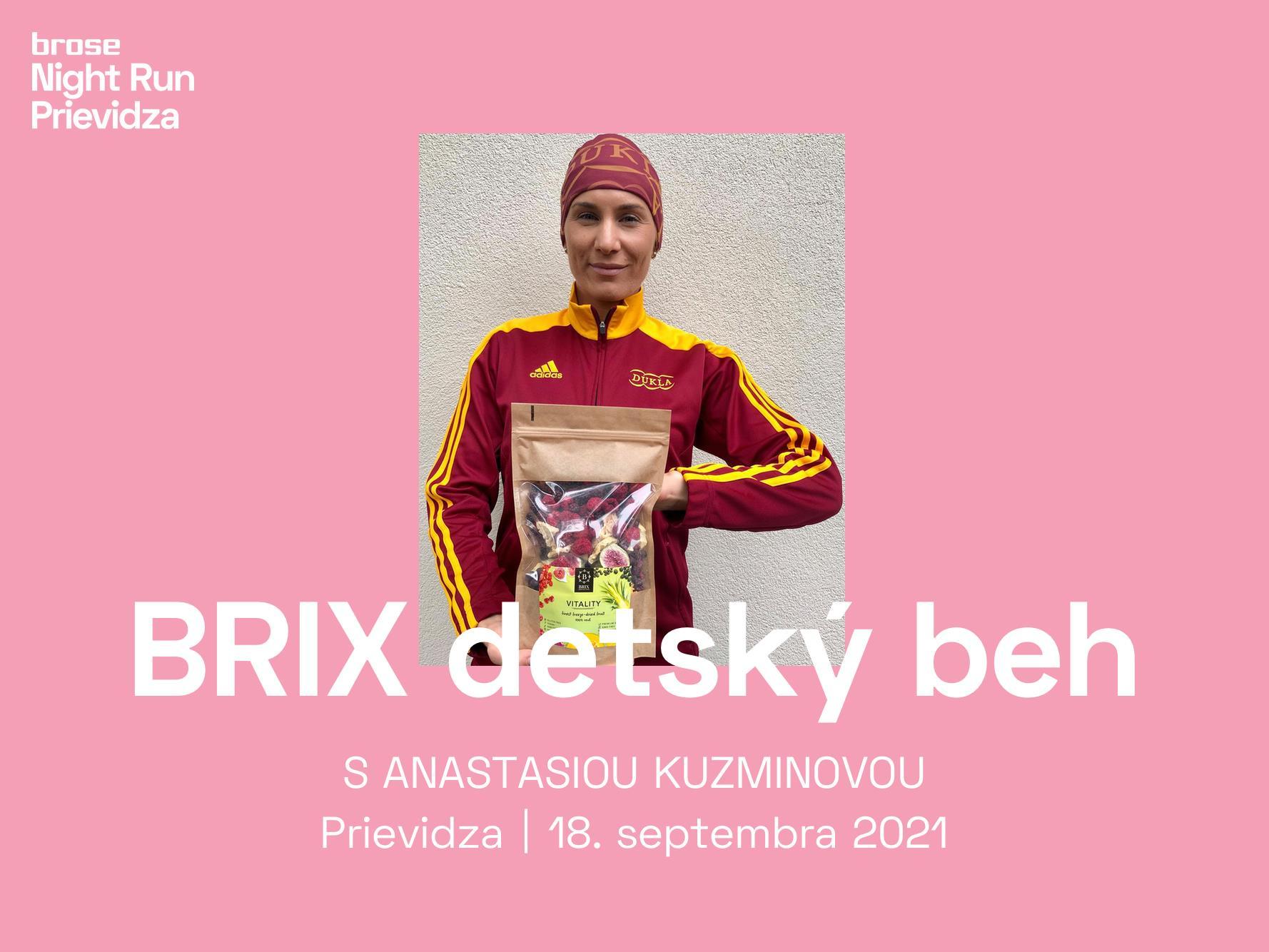 BRIX detský beh Prievidza 2021