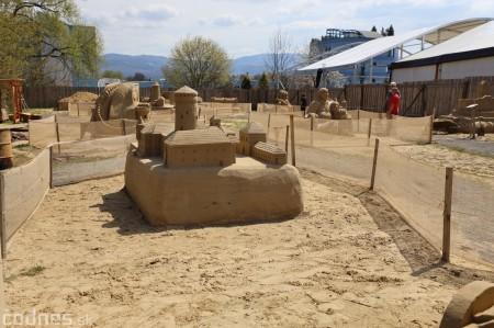 Foto: Pieskové sochy v Bojniciach otvárajú už 1.mája 2021 25