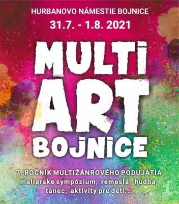 Multi art Bojnice 2021 - 7.ročník multižánrového podujatia