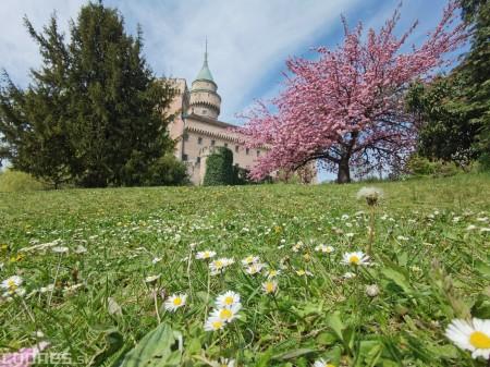 Foto: Rozkvitnuté Bojnice a okolie Bojnického zámku 20