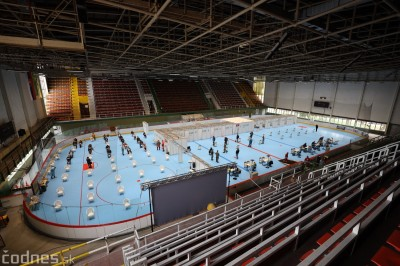 Počas víkendu zaočkovali v Prievidzi celkom 2633 ľudí