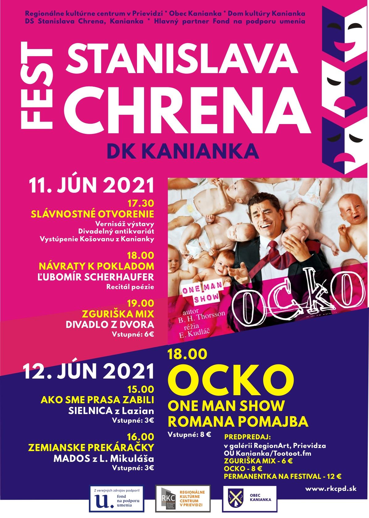 Festival Stanislava Chrena 2021