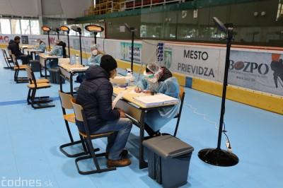 Na zimnom štadióne v Prievidzi cez víkend zaočkovali 3390 ľudí. V Trenčianskom kraji celkovo už 50000 ľudí