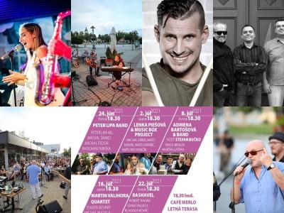 Koncerty Letná pauza Jazz 2021: Lipa, Piešová, Bartošová, Valihora, Bashavel