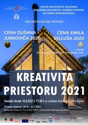 Kreativita priestoru 2021