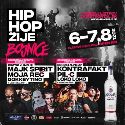 Hip Hop Žije - Bojnice 2021