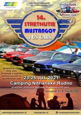 Mustang & US cars - 14. priateľské stretnutie fanúšikov - Nitrianske Rudno