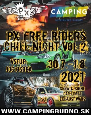 Px free riders | chill night vol. 2 - Zraz milovníkov stylingu aút