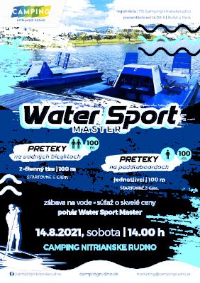 Water Sport Master - Jedinečné preteky na vodných bicykloch & paddleboardoch