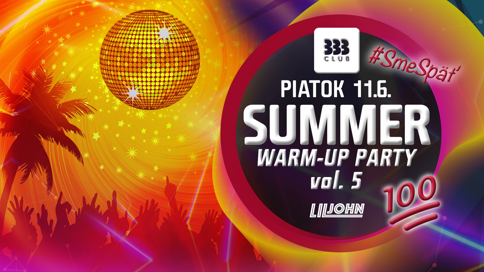 ☆ SUMMER Warm-UP Party vol 5 ☆ 11.6.