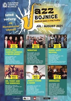 Bojnice: Letné koncerty na námestí 2021