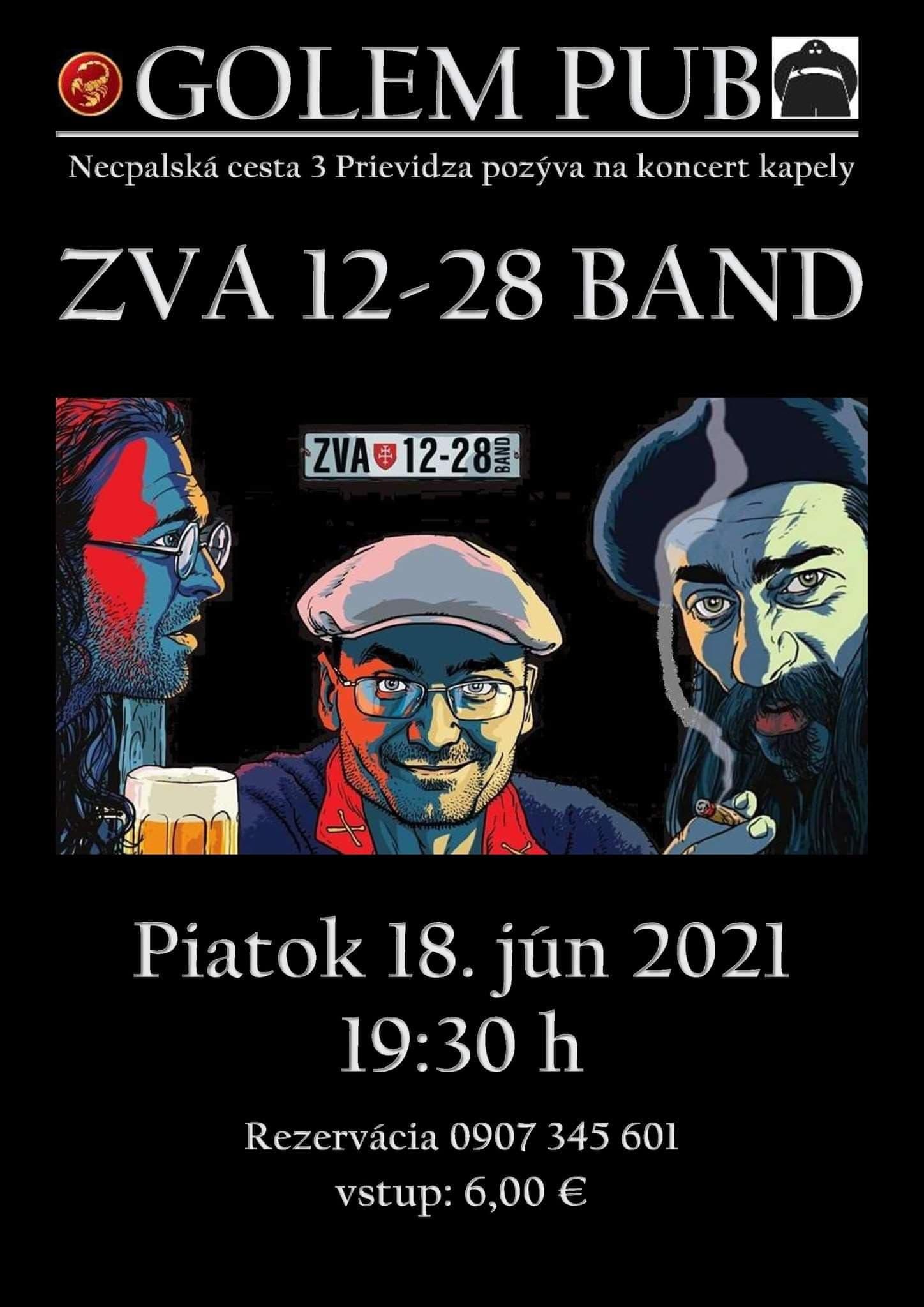 Koncert Bluesových mágov ZVA 12-28