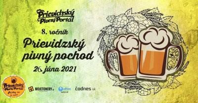 Prievidzský pivný pochod 2021 - 8. ročník