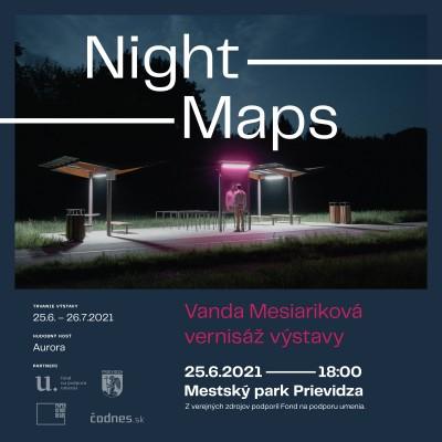 Night Maps - vernisáž výstavy