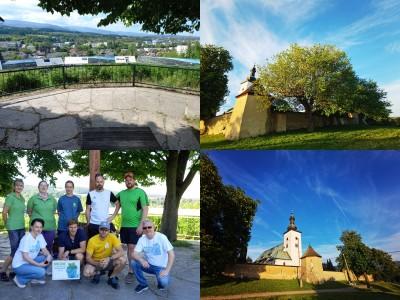 Foto a video: Dobrovoľnći zveľadili Mariánsky vŕšok v Prievidzi