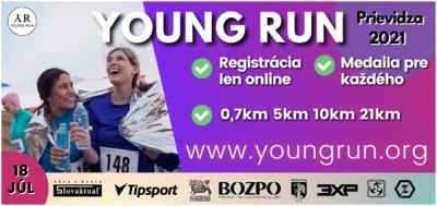 YOUNG RUN 2021 - beh v Prievidzi