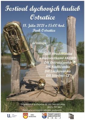 Festival dychových hudieb Ostratice 2021