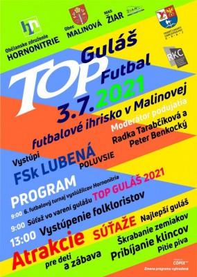 TOP Guláš a Futbalový turnaj 2021