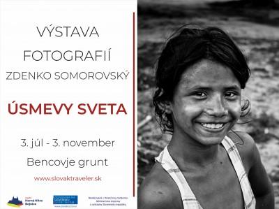 Bencovje grunt prináša foto výstavu ÚSMEVY SVETA