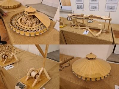 Foto a video: Múzeum Bojnice otvorilo novú výstavu stroje Leonarda da Vinciho