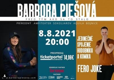 Barbora Piešová a Fero Joke - Bojnice 2021