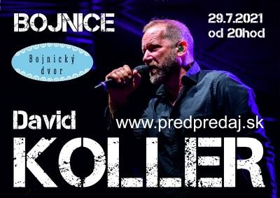 Koncert David Koller - Bojnice