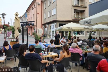Foto a video: Adriena Bartošová & Band. Hosť Štefan Bučko - Café Merlo Prievidza 4