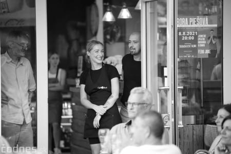 Foto a video: Adriena Bartošová & Band. Hosť Štefan Bučko - Café Merlo Prievidza 30