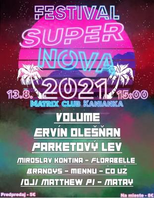 SUPER NOVA FESTIVAL SLOVAKIA 2021