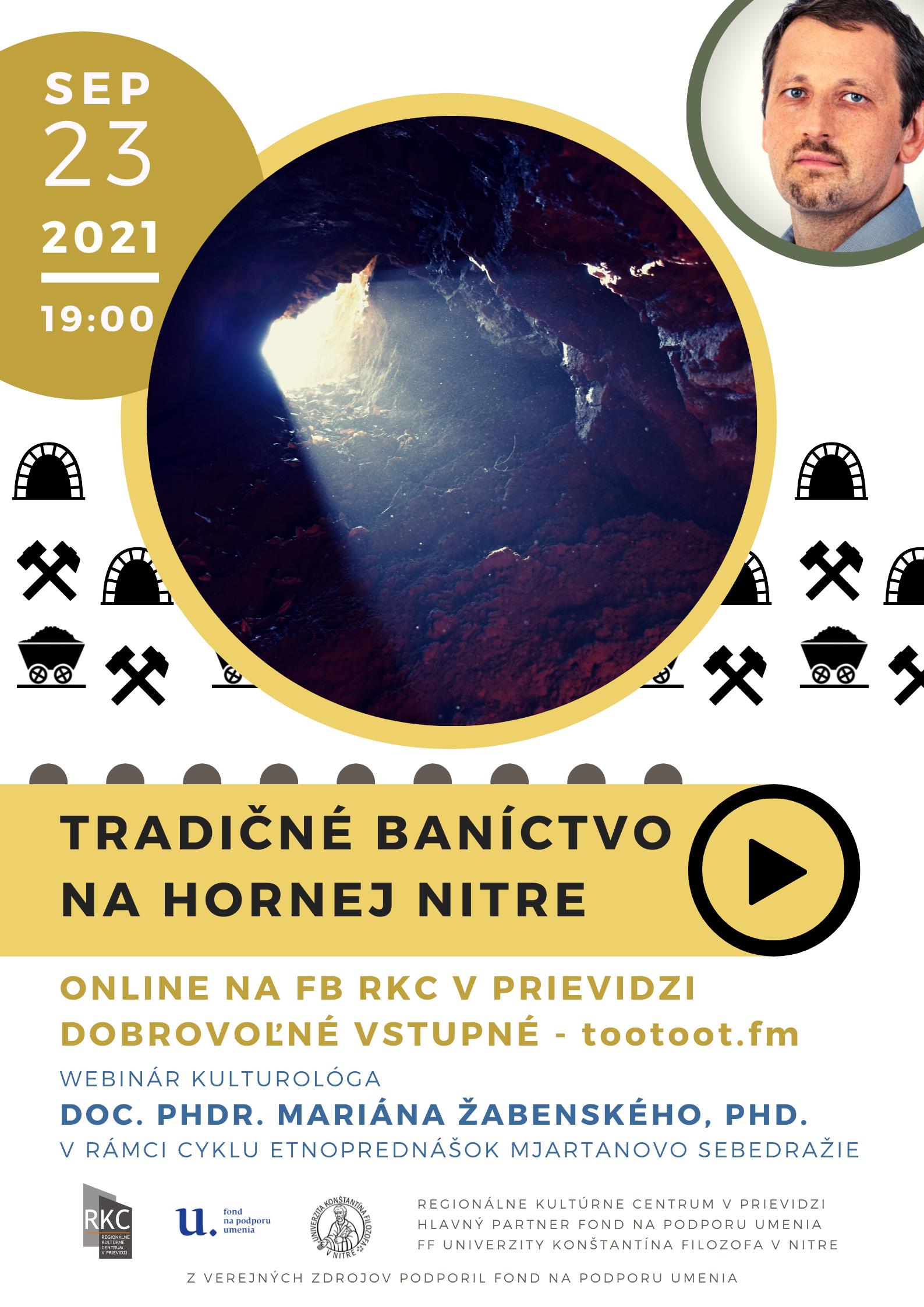 ONLINE: Tradičné baníctvo na hornej Nitre