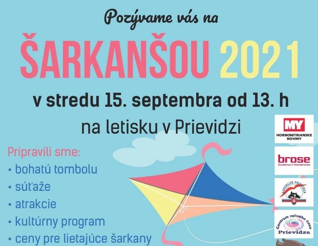 Šarkanšou 2021 - Prievidza