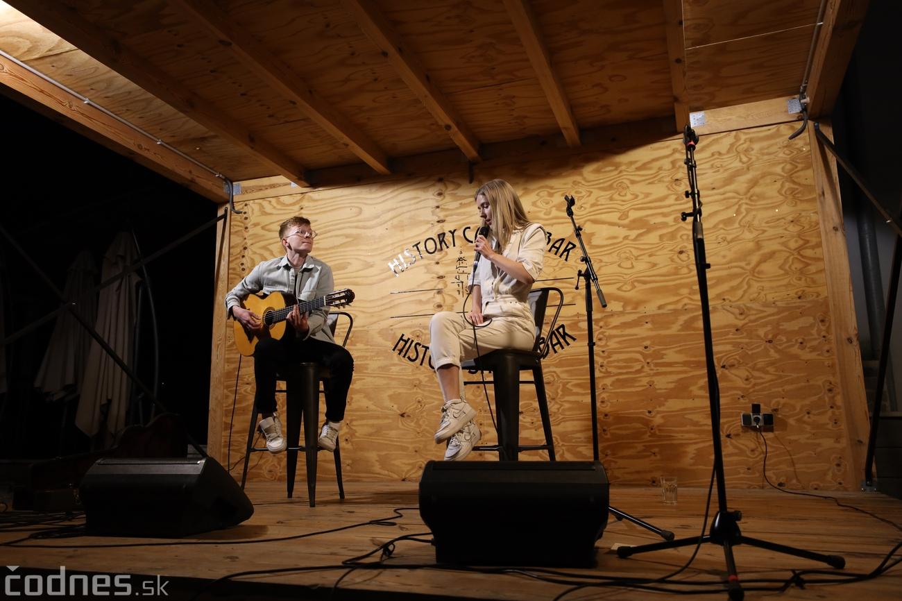 Foto a video: Kristin Lash & Jakob Grey - Jazz na námestí - Prievidza