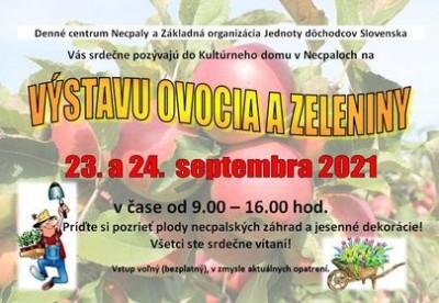 Jesenná výstava plodov záhrad