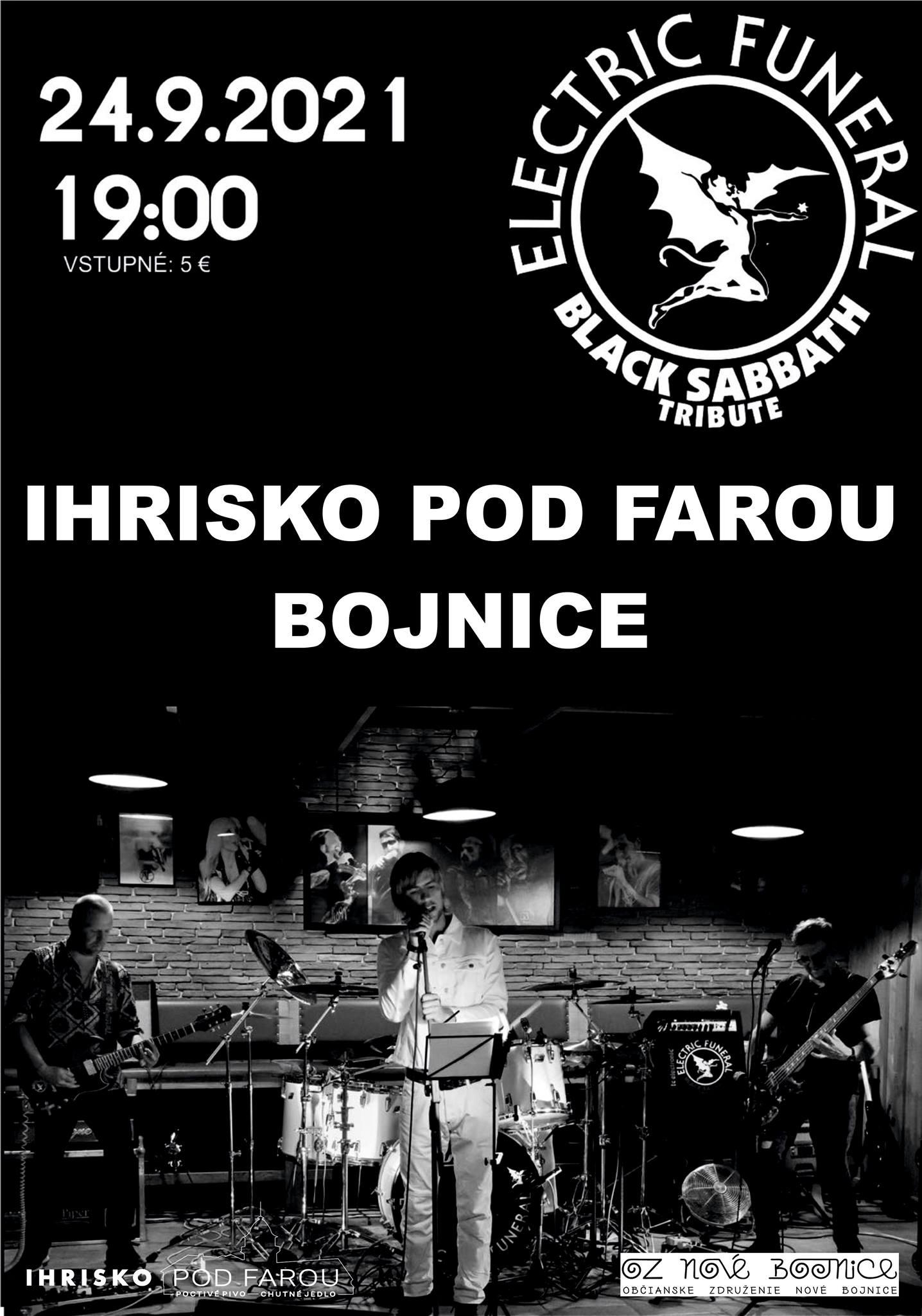 ELECTRIC FUNERAL - Black Sabbath Tribute