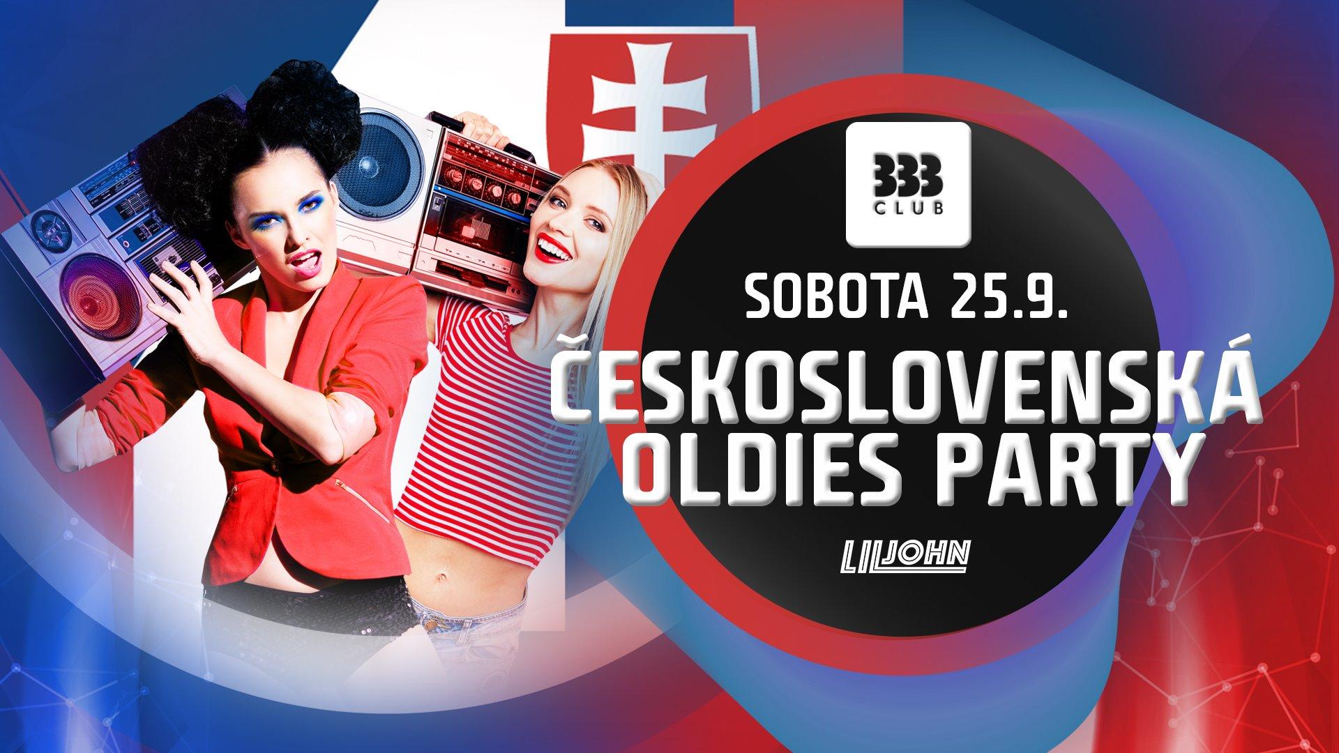☆ ČeskoSlovenská Oldies Party ☆ 25.9.