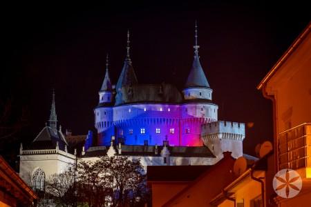Večerné prehliadky nádvorí Bojnického zámku budú môcť návštevníci vidieť posledný raz 0