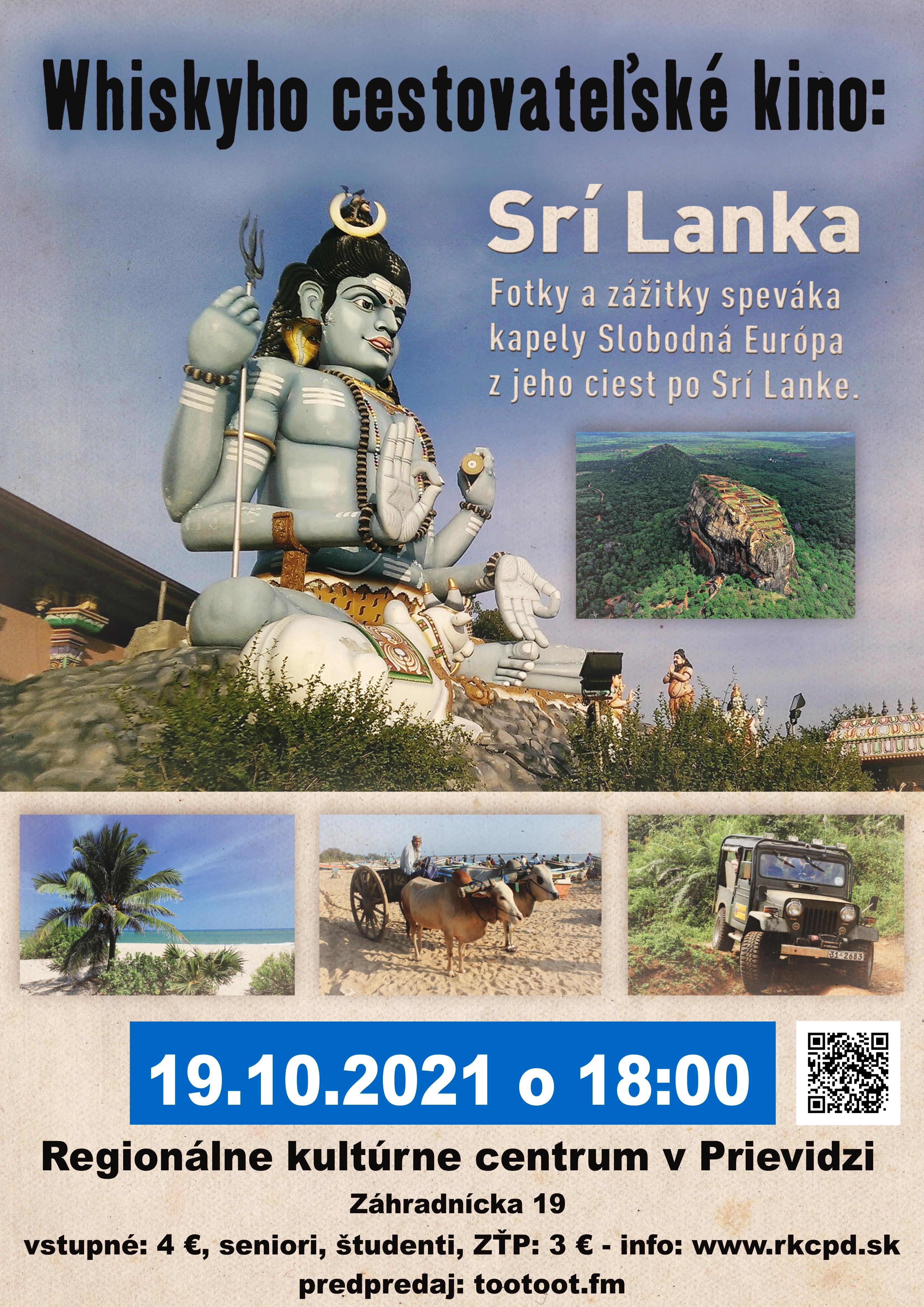 Whiskyho cestovateľské kino: Srí Lanka