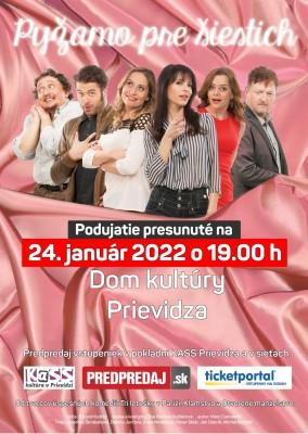 Pyžamo pre šiestich - Preložené na 24. 01. 2022!
