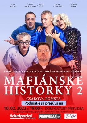 Mafiánske historky 2: Csabova pomsta - Preložené na 10. 02. 2022!