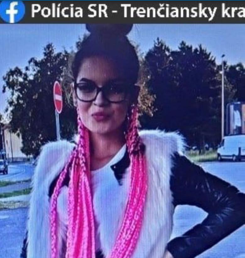 VIDELI STE JU? Polícia pátra po S. Cigáňovej z Nitrianskeho Pravna